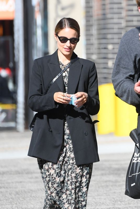 DIANNA AGRON Out in New York 10/08/2020