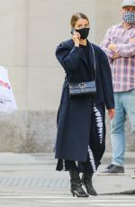 DIANNA AGRON Out in New York 10/20/202