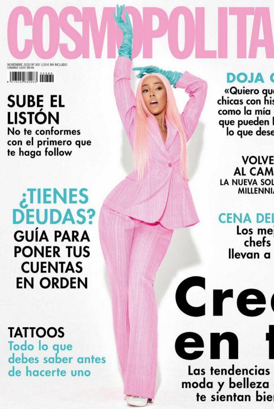 DOJA CAT in Cosmopolitan Magazine, Spain November 2020