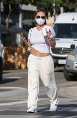 DOROTHY WANG Out for Coffee in Beverly Hills 10/28/2020
