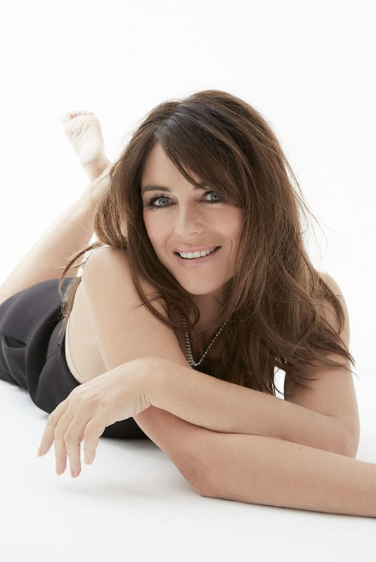 ELIZABETH HURLEY for You Magazine, October 2020