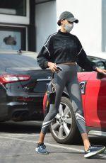 ELLA BALINSKA in Leggings Out in Los Angeles 10/08/2020