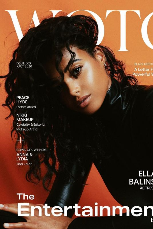 ELLA BALINSKA on the Cover of Wotc Magazine, Entertainment Issue 2020