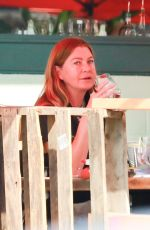 ELLEN POMPEO Out for Lunch in Los Angeles 10/17/2020