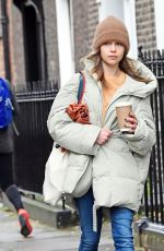 EMILIA CLARKE Out and About in London 10/25/2020
