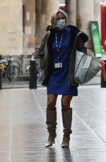 EMILY MAITLIS Leaves BBC Studios in London 09/30/2020