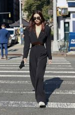 EMILY RATAJKOWSKI in Nasty Gal Out in New York 10/07/2020
