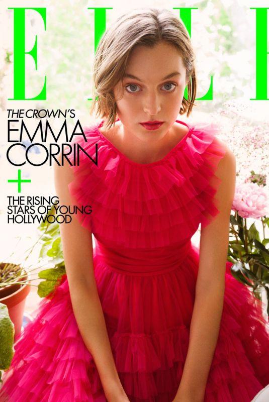 EMMA CORRIN in Elle Magazine, November 2020