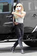 EMMA SLATER Arrives at Dance Studio in Los Angeles 09/30/2020