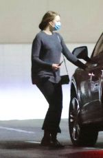 EMMA STONE Arrives at Appintment in Los Angeles 10/22/2020