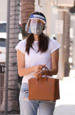 EMMY ROSSUM Heading to a Doctors Appointment in Beverly Hills 10/02/2020
