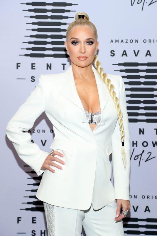 ERIKA JAYNE at Savage x Fenty Show Vol. 2 in Los Angeles 09/13/2020