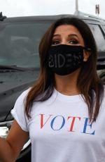 EVA LONGORIA at Ana Navarro Rally For the Latino Vote in Miami 09/30/2020