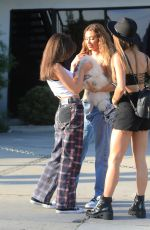 FRANCESCA FARAGO Out for Lunch with Friends in Los Angeles 10/19/2020