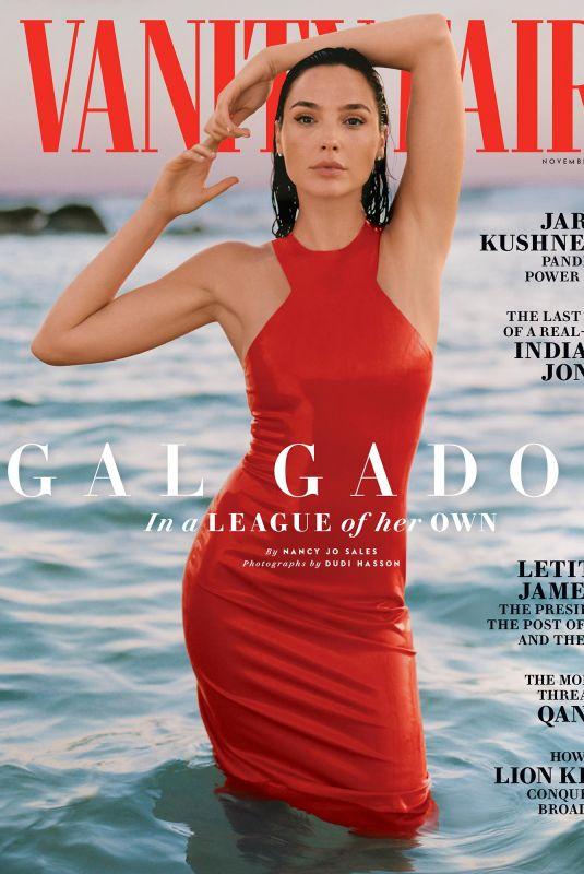 GAL GADOT in Vanity Fair Magazine, November 2020