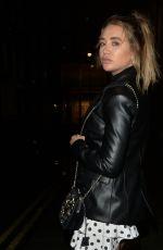 GEORGIA HARRISON at It Restaurant in London 10/13/2020