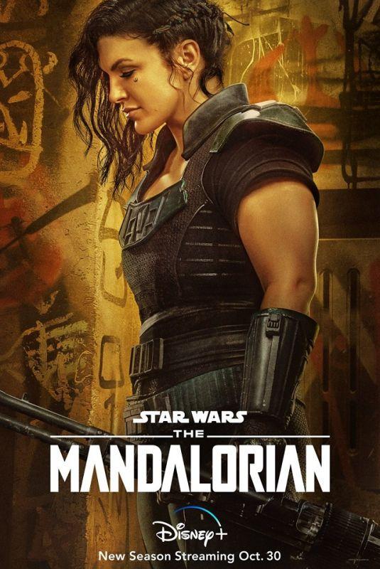 GINA CARANO – The Mandalorian, Season 2 Poster