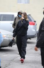 HAILEY BIEBER Arrives at a Spa in Los Angeles 10/23/2020