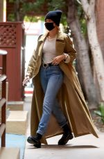 HAILEY BIEBER Leaves a Medical Building in Beverly Hills 10/22/2020