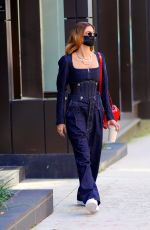 HAILEY BIEBER Out and About in New York 10/15/2020