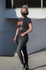 HAYDEN PANETTIERE Out in Beverly Hills 10/27/2020