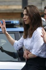 HAYLEY ATWELL and Tom Cruise on the Set of Mission Impossible 7 in Rome 10/12/2020