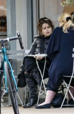 HELENA BONHAM CARTER Out for Lunch in London 10/14/2020