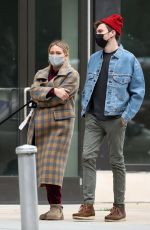 HILARY DUFF and Matthew Koma Out in New York 10/25/2020