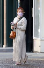 HILARY DUFF Out in New York 10/17/2020