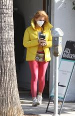 ISLA FISHER Out and About in Studio City 10/26/2020