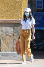 JAMIE CHUNG Out and About in Los Angeles 10/28/2020