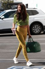 JEANNIE MAI Arrives at DWTS Rehersal in Los Angeles 10/15/2020