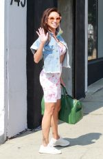 JEANNIE MAI Arrives at DWTS Studio in Los Angeles 10/17/2020