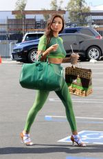 JEANNIE MAI Arrives at DWTS Studio in Los Angeles 10/19/2020
