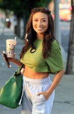 JEANNIE MAI at Dancing with the Stars Studios in Los Angeles 09/30/2020