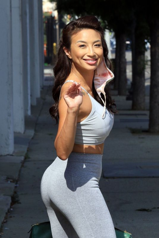JEANNIE MAI in Tights Out in Los Angeles 10/20/2020
