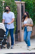 JENNA DEWAN and Steve Kazee Out in Los Angeles 10/08/2020