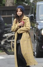 JENNA LOUISE COLEMAN Out and About in London 10/30/2020