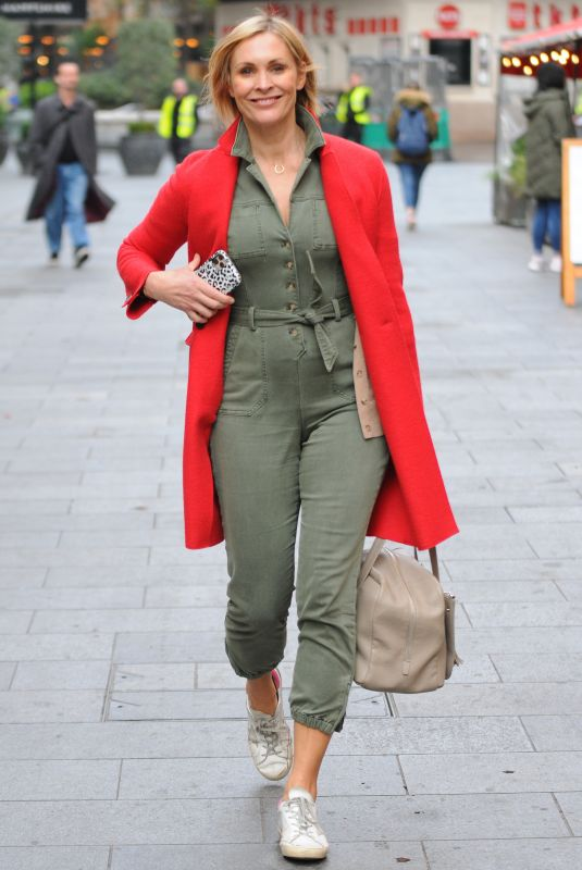 JENNI FALCONER Leaves Smooth Radio in London 10/19/2020