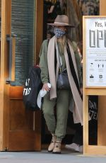 JESSICA ALBA Shopping at Urban Outfitters in Los Angeles 10/25/2020
