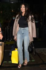 JESSICA WRIGHT Leaves Amazonico Restaurant in London 10/07/2020