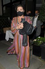 JESSIE WALLACE Night Out in London 10/16/2020