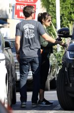 JORDANA BREWSTER and Andrew Form Out for Lunch in West Hollywood 10/28/2020