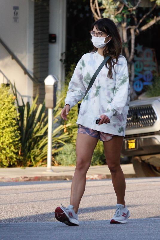 JORDANA BREWSTER Out for Coffee in Brentwood 10/24/2020