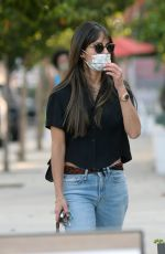 JORDANA BREWSTER Out for Coffee in Los Angeles 10/18/2020