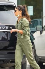 JORDANA BREWSTER Out with Her Dog in Malibu 10/25/2020
