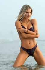 JOY CORRIGAN in Bikini at a Photoshoot at Venice Beach 10/15/2020