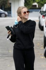 JULIANNE HOUGH Out and About in Los Angeles 10/24/2020