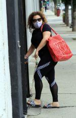 JUSTINA MACHADO Arrives at Dance Studio in Los Angeles 10/23/2020