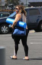 JUSTINA MACHADO Arrives at DWTS Studio in Los Angeles 10/14/202
